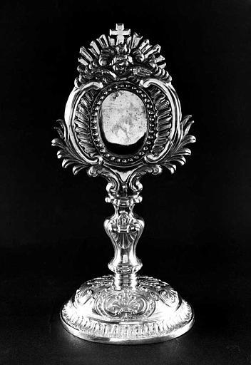 Reliquaire de sainte Apolline en argent