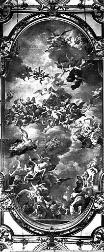 Plafond peint de la salle de bal : Les différents moyens pour un Prince d'accéder à la gloire