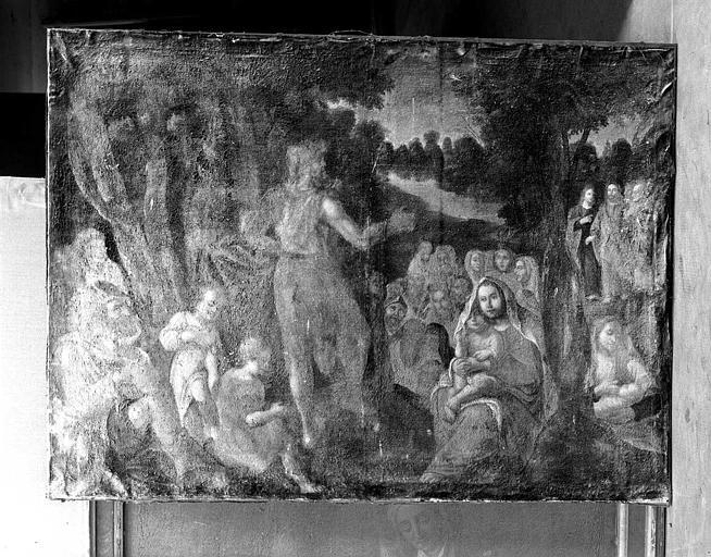 tableau : La Prédication de saint Jean-Baptiste