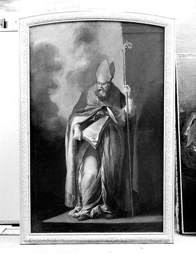 Peinture sur toile : Un docteur de l'Eglise
