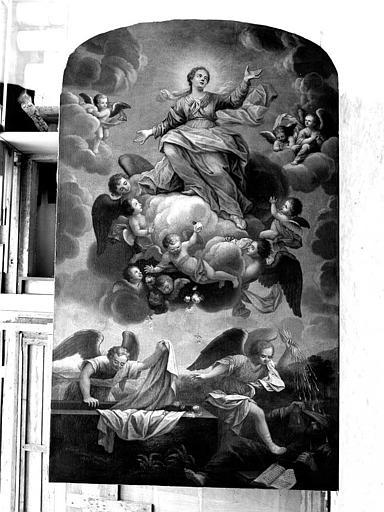 Peinture sur toile : Assomption