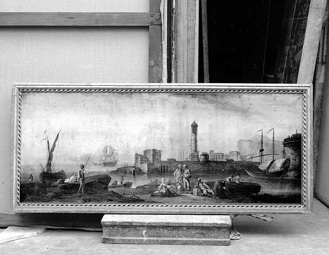 Peinture sur toile : Marine