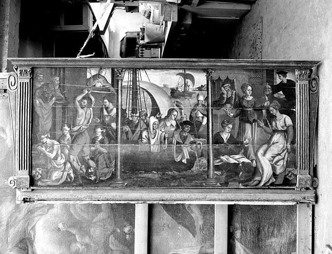 Panneaux peints : La légende de saint Nicolas