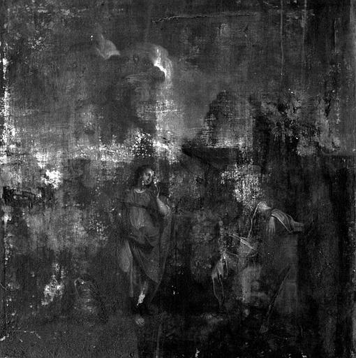 Peinture sur toile : Le Christ et de la Samaritaine