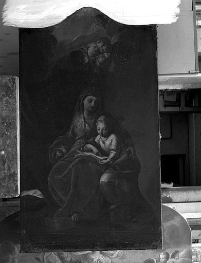 Retable latéral : Sainte Anne et la Vierge