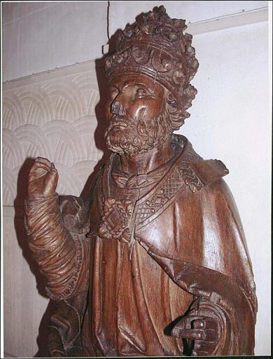 Statue : saint Pierre, détail