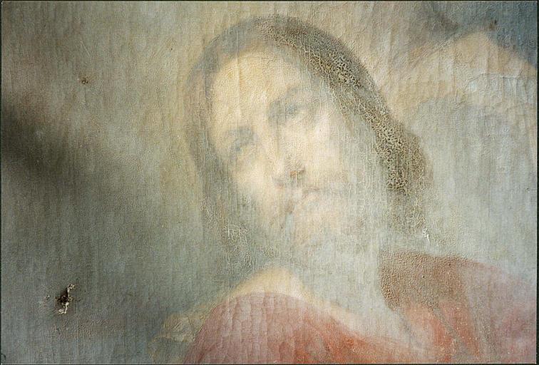 tableau : Christ au jardin des oliviers, détail du Christ