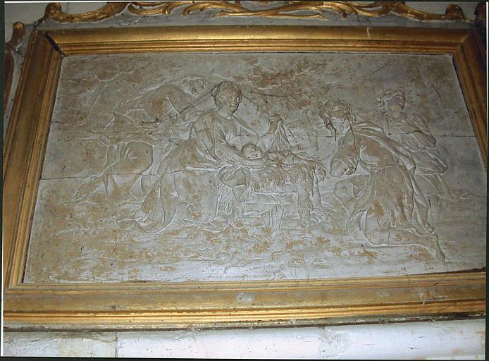 Relief : Adoration des bergers