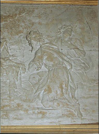 Relief : Adoration des bergers, détail