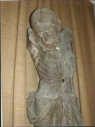 Croix : Christ en croix, détail