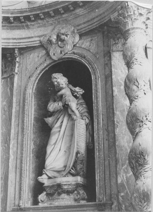 Autel de la chapelle Saint-Joseph
