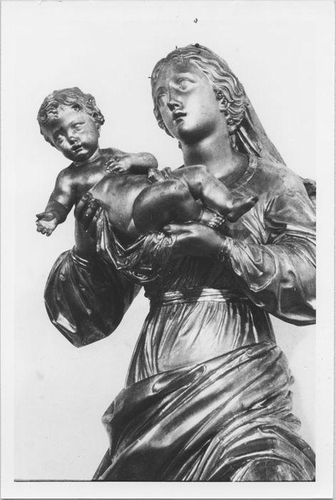 Statue de procession : Vierge à l'Enfant, dite de la Présentation
