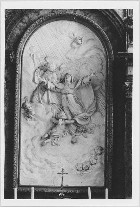 Bas-relief : L'Apothéose de sainte Colette