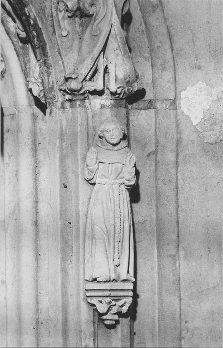 2 statuettes : Saint Jean-Baptiste, Saint François d'Assise