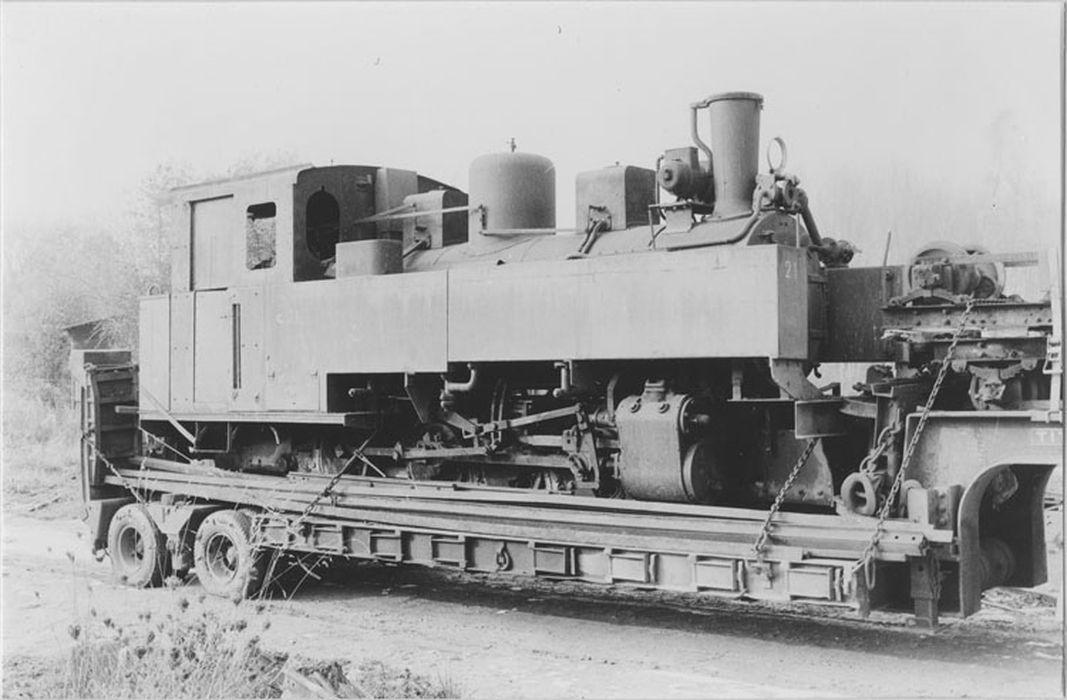 locomotive à vapeur : locomotive époque Franco-Belge, 040 T 2236
