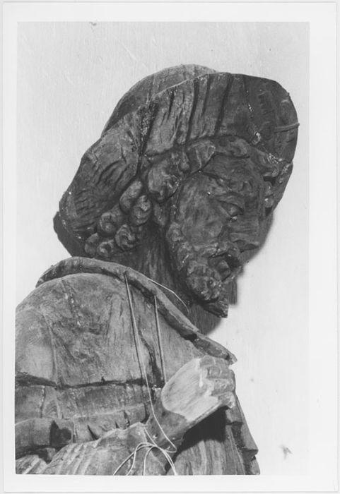 Statue : Saint Roch en pèlerin
