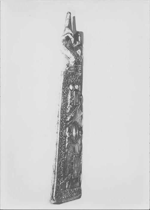 Bras-reliquaire de saint Etienne et des martyrs Vincent et Jacques