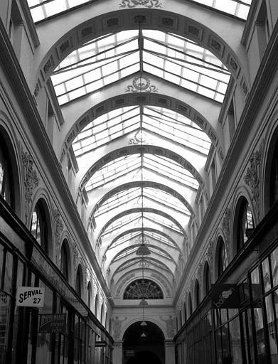 Galerie Vivienne, anciennement appelée galerie Marchoux