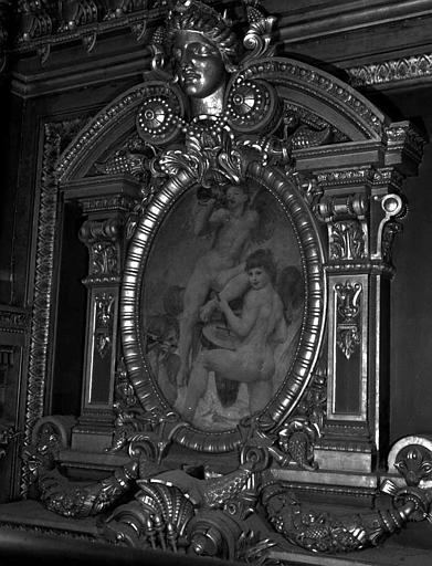 Décor du plafond du Grand Foyer : Anges musiciens