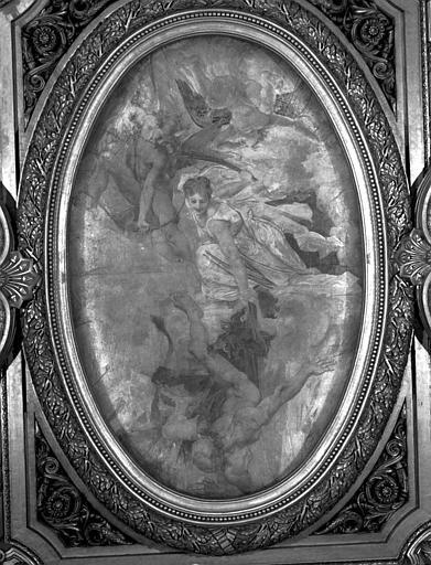 Décor du plafond du Grand Foyer : Coupole