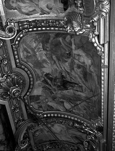 Décor du plafond du Grand Foyer : L'Assaut