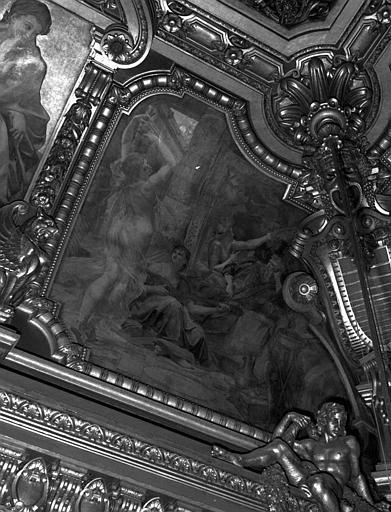 Décor du plafond du Grand Foyer : Danse de Salomé devant Hérode