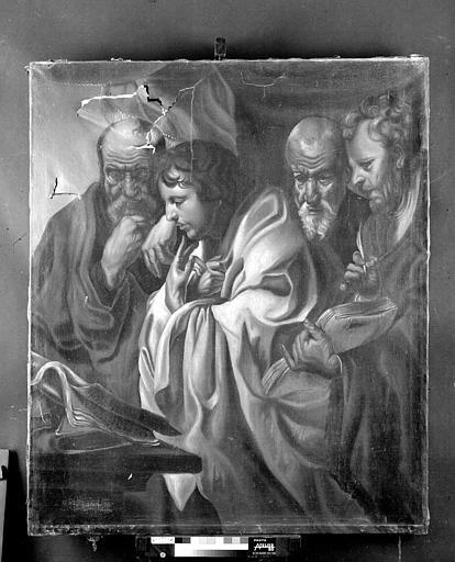 Peinture sur toile : Les quatre évangélistes