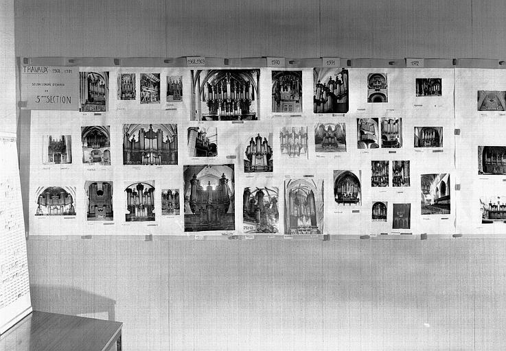 Exposition pour la 50e séance de la commission des orgues