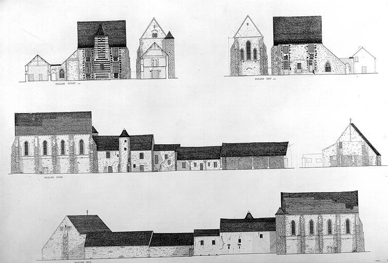 Elévation des façades