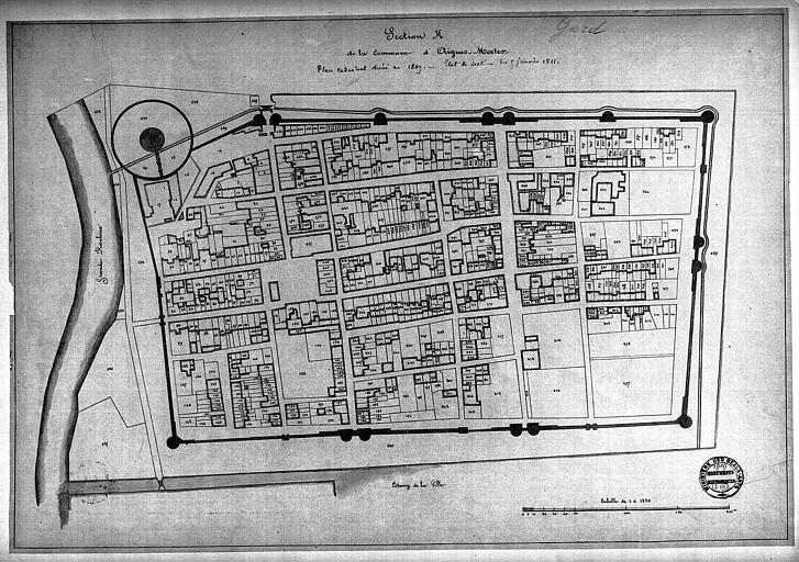 Plan cadastral (section H)