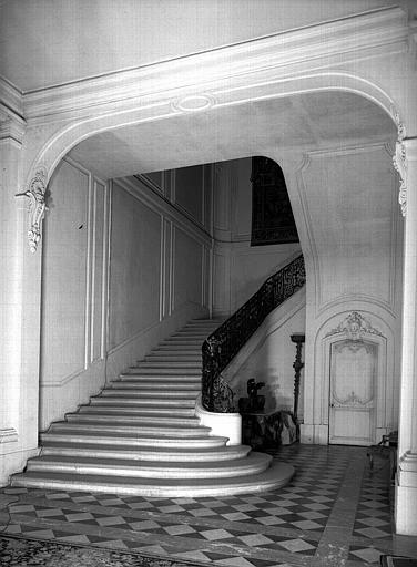Départ de l'escalier intérieur