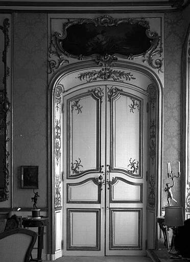 Porte du salon