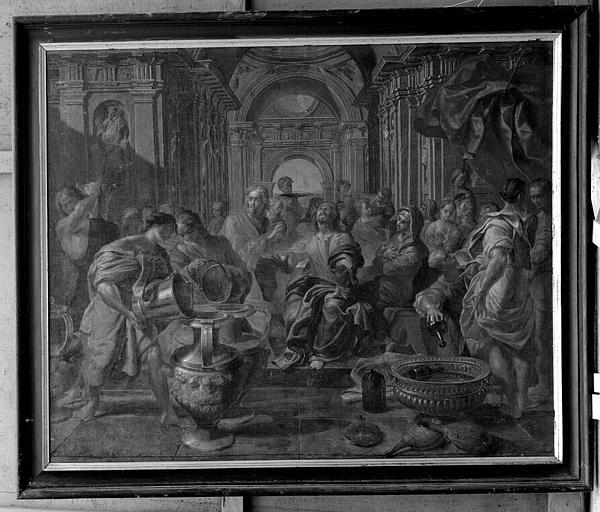 Peinture sur toile : Le Mariage ou les Noces de Cana