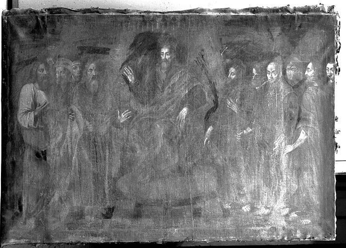 Peinture sur toile : La primauté de saint Pierre