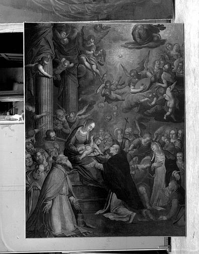 Peinture sur toile : Le Rosaire