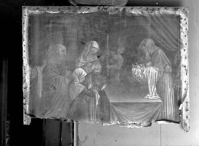 Peinture sur toile : La Présentation de Jésus au Temple