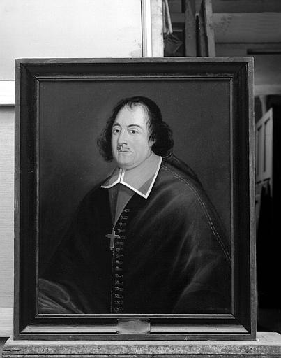 Ensemble de peintures sur toile représentant les évêques de Tréguier : Portrait d'Eustache le Sénéchal de Carcado (1686-1694)