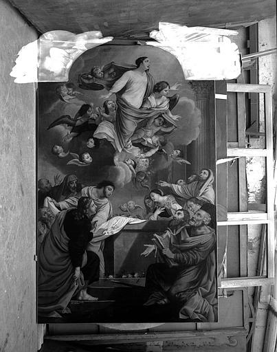 Peinture sur toile : L'Assomption