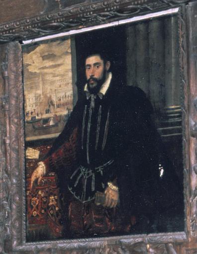 Tableau, cadre : Portrait de Jean d'Yversen envoyé comme agent du Roi en 1559 auprès de Soliman Le Magnifique à Constantinople