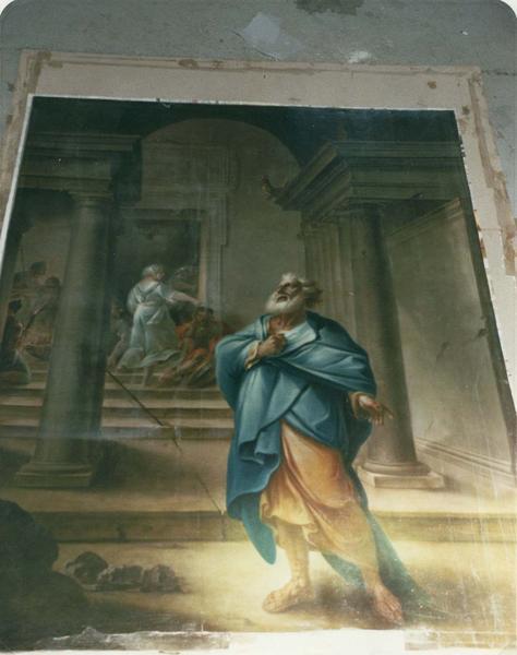 2 tableaux : Martyre de saint Pierre et saint Paul, pénitence de saint Pierre