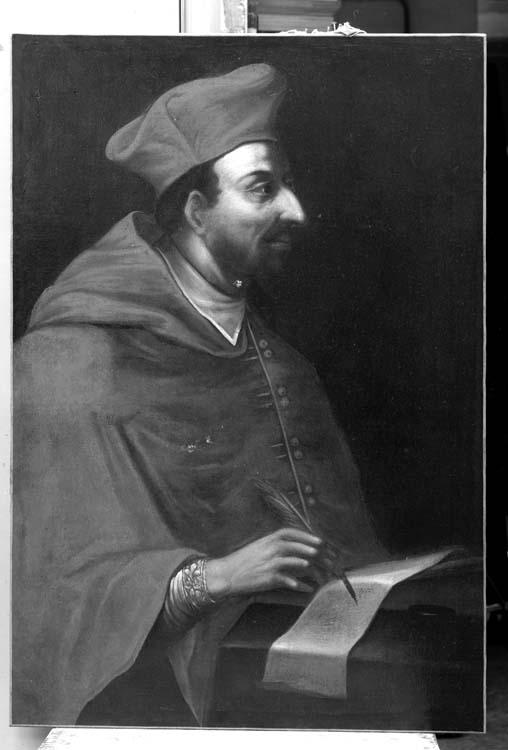 Peinture sur toile : Saint Charles-Borromée