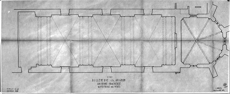 Plan du réfectoire