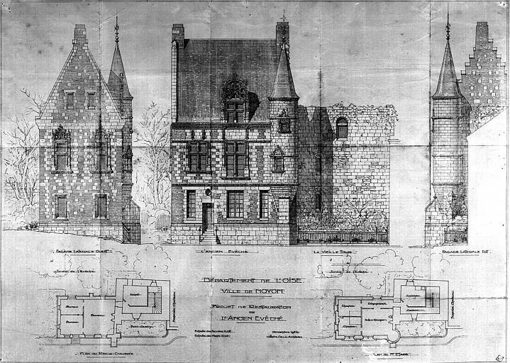 Projet de restauration : Plans et élévations