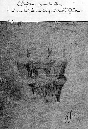 Plan au niveau de la chaussée, élévation de la façade sud, coupe longitudinale au droit des piles et coupe sur la travée centrale