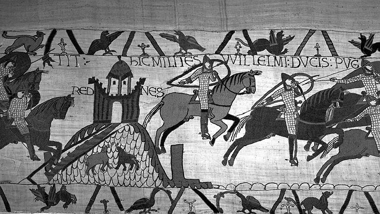 Tapisserie de Bayeux (avers),  24B : Bretons à cheval