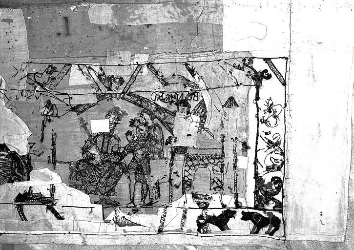 Tapisserie de Bayeux : Revers de 82P00688