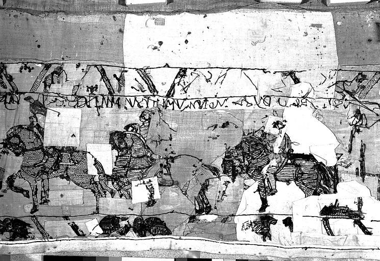 Tapisserie de Bayeux : Revers de 82P00689