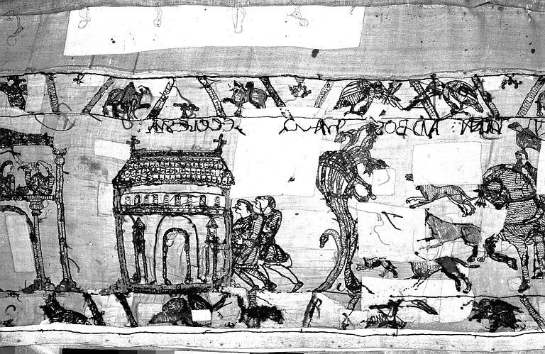 Tapisserie de Bayeux : Revers de 82P00690