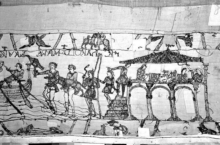 Tapisserie de Bayeux : Revers de 82P00691