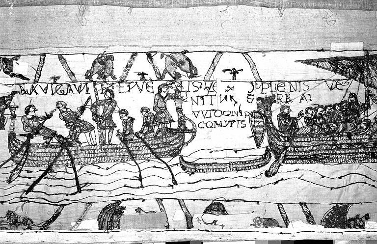 Tapisserie de Bayeux : Revers de 82P00692